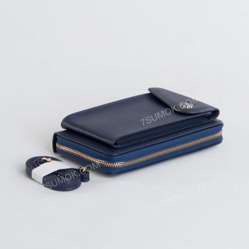 Гаманець-клатч 7106 blue
