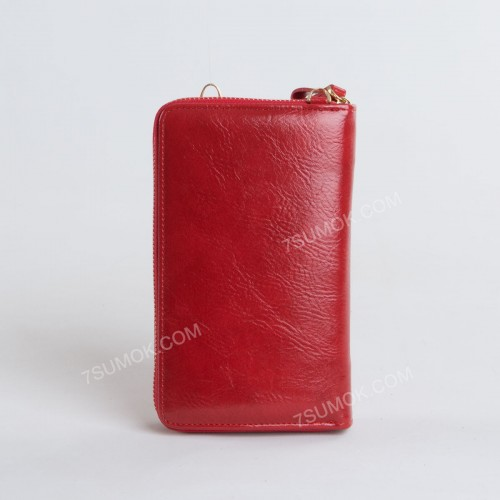 Гаманець-клатч 7103 red