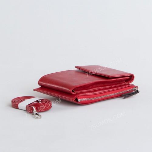 Гаманець-клатч D1010 red