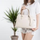Жіноча сумка 6207-2T beige