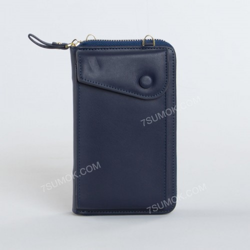 Гаманець-клатч 7098 blue