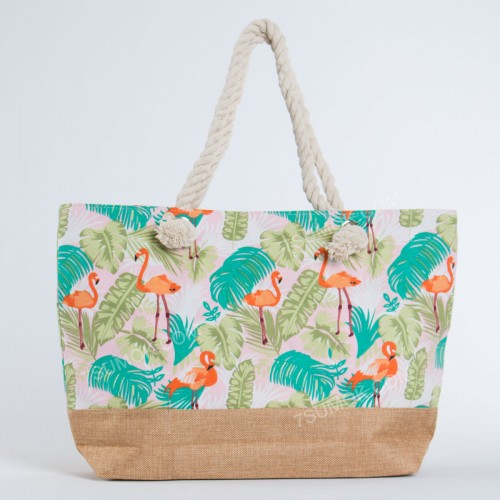 Пляжна сумка 9918 pink