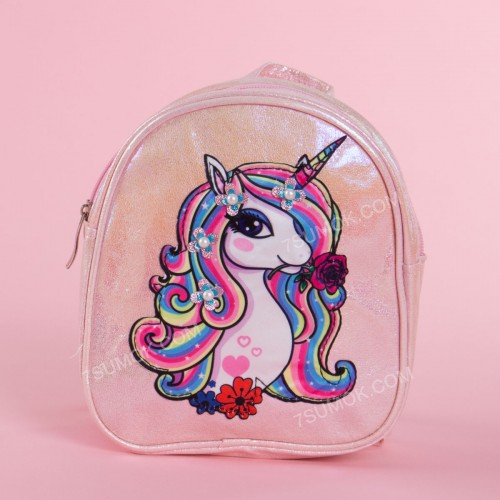 Дитячий рюкзак A-803 pink