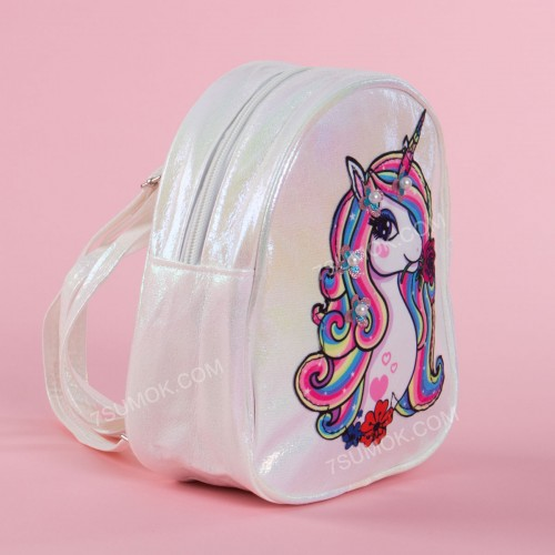 Дитячий рюкзак A-803 white