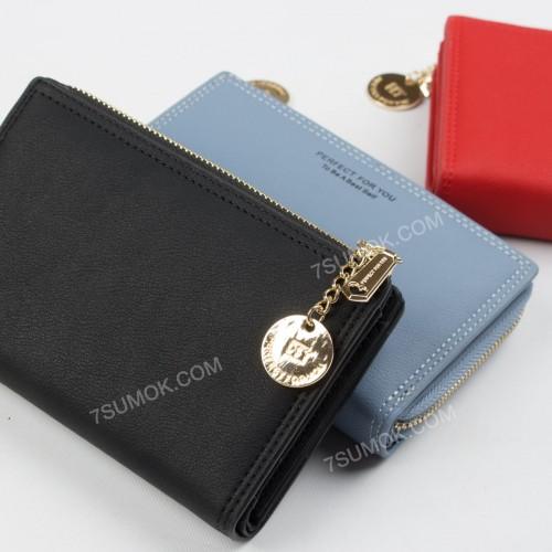 Жіночий гаманець 6916-003 black