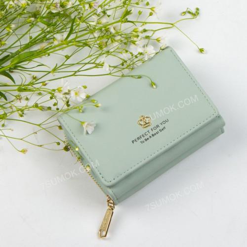 Жіночий гаманець 6905-010 light green