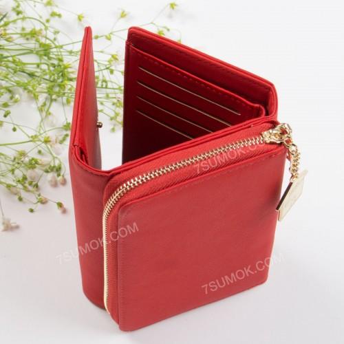 Жіночий гаманець 6915-004 red