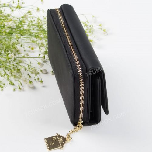 Жіночий гаманець 6915-004 black