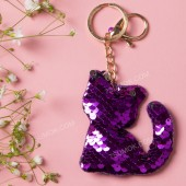 Брелок 165 cat dark purple