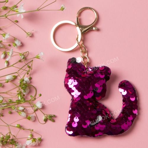 Брелок 165 cat dark pink