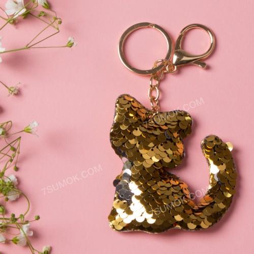 Брелок 165 cat gold