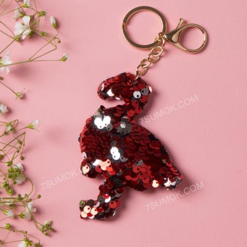 Брелок 165 flamingo red