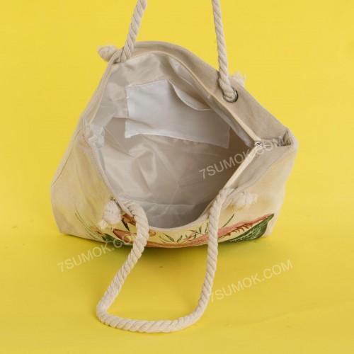 Пляжна сумка 20-11 beige