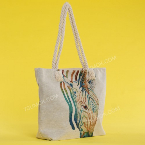Пляжна сумка 20-8 beige