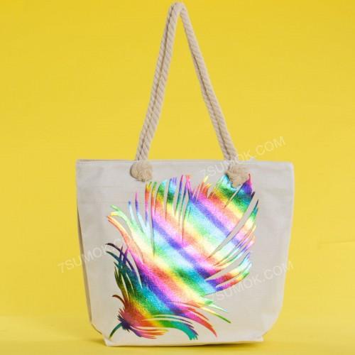 Пляжна сумка 20-62 beige