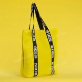 Пляжна сумка 20-7 yellow