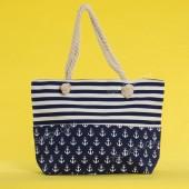 Пляжна сумка 20-43 blue
