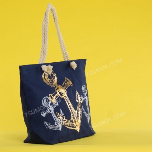 Пляжна сумка 20-36 blue