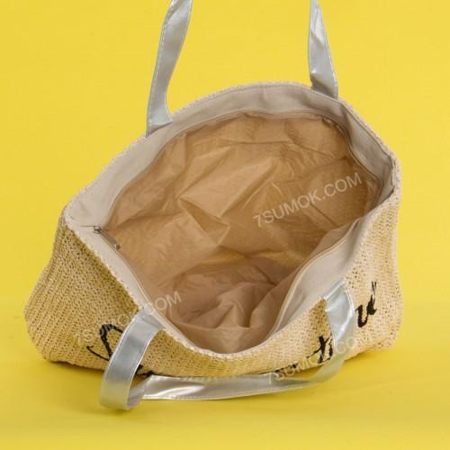 Пляжна сумка 20-4 beige