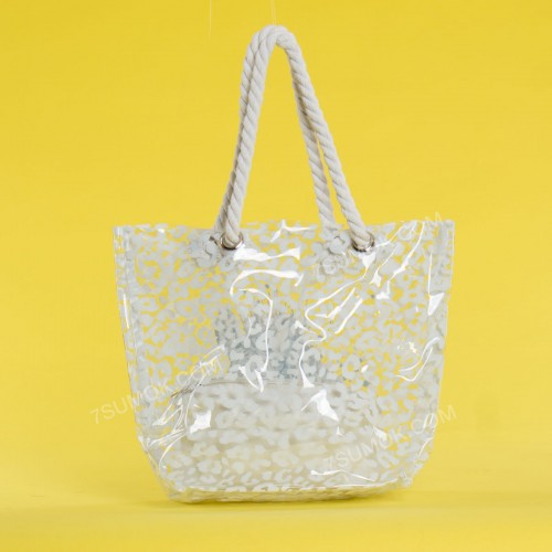 Пляжна сумка 1919-5 white