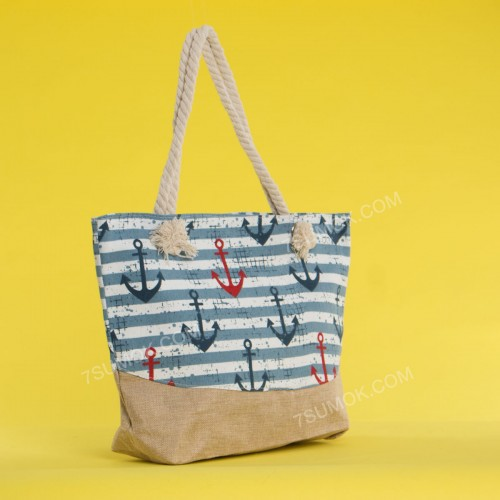 Пляжна сумка 20-66 light blue