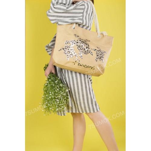Пляжна сумка 20-28 khaki