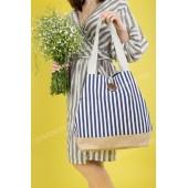 Пляжна сумка 20-44 white-blue