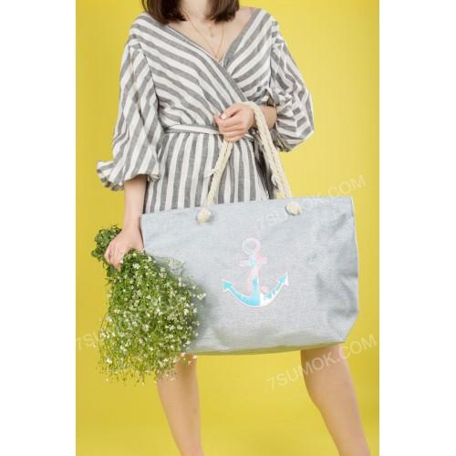 Пляжна сумка 20-37 light blue