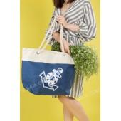 Пляжна сумка 20-2 blue-beige