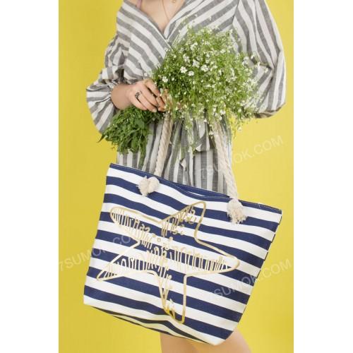 Пляжна сумка 20-65 blue