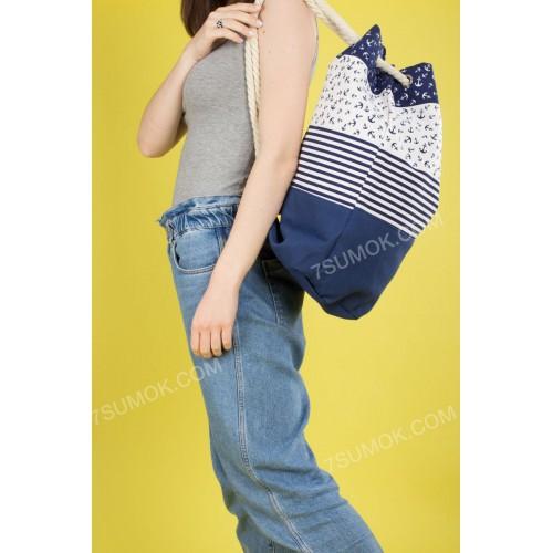 Пляжний рюкзак 20-5 blue
