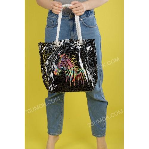 Пляжна сумка 1919-4 black