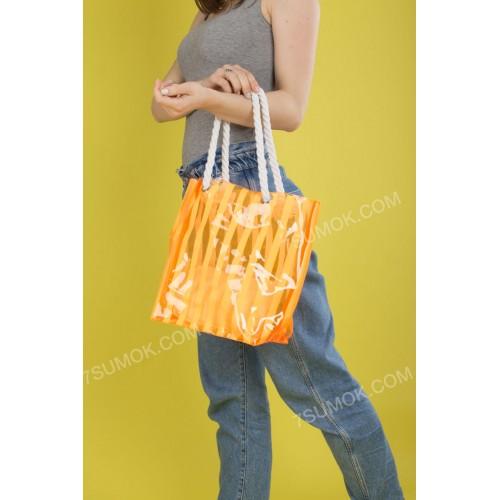 Пляжна сумка 1919-1 orange