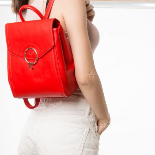 Жіночий рюкзак SF007 red
