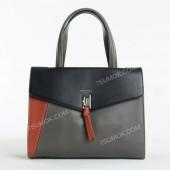 Жіноча сумка 6410-2T black gray