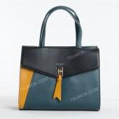 Жіноча сумка 6410-2T peacock blue