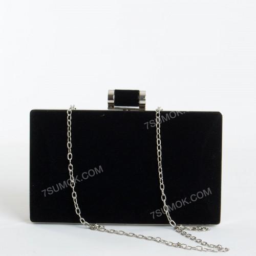 Вечірній клатч 9883 black
