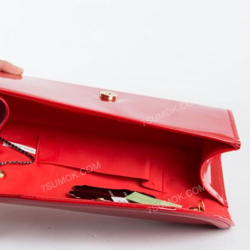 Вечірній клатч 607 red