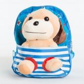 Дитячий рюкзак-іграшка 674 light blue