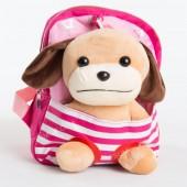 Дитячий рюкзак-іграшка 674 dark pink