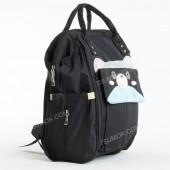 Рюкзак для мами і дитини M809 black