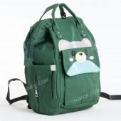 Рюкзак для мами і дитини M809 green