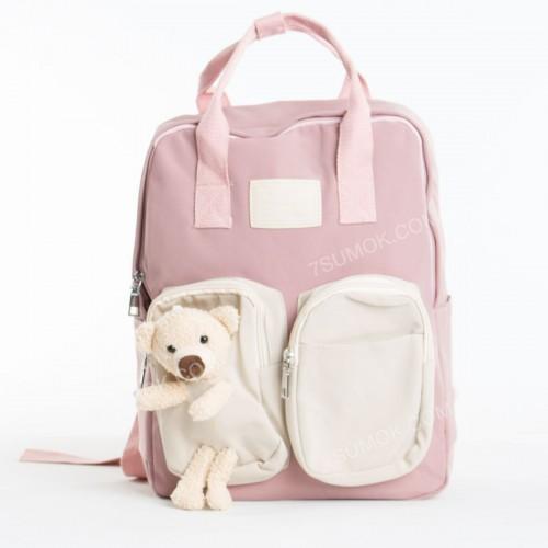 Дитячий рюкзак E9228 pink