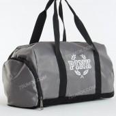 Спортивна сумка S1-052 PINK gray