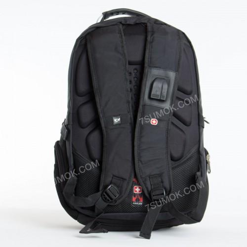 Чоловічий рюкзак 8815 black-gray