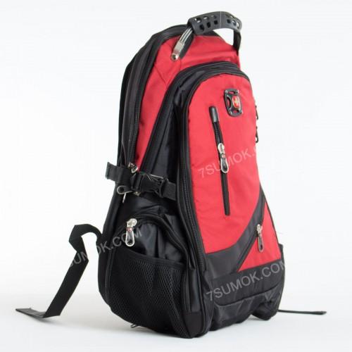 Чоловічий рюкзак 8815 black-red