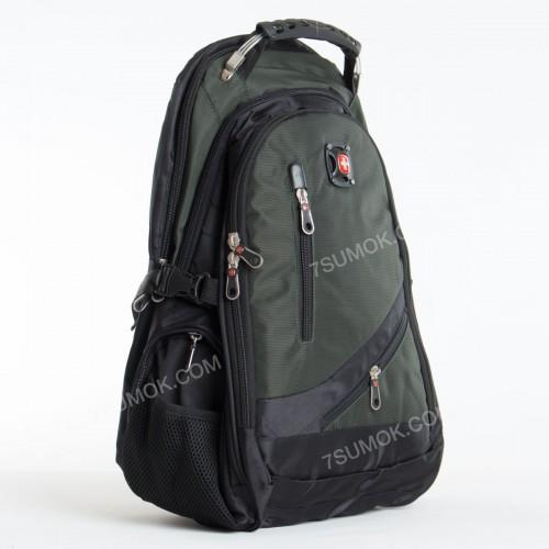 Чоловічий рюкзак 8815 black-green