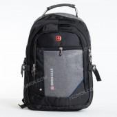 Чоловічий рюкзак 6620 black-light gray