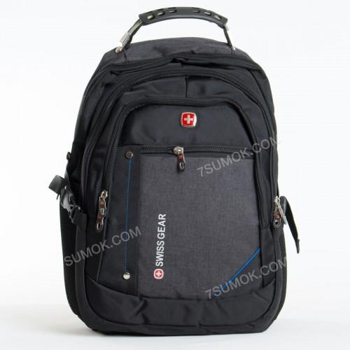 Чоловічий рюкзак 6620 black-dark gray