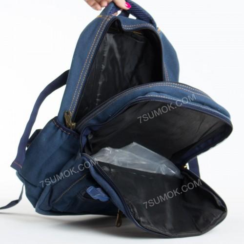 Чоловічий рюкзак 1304 blue